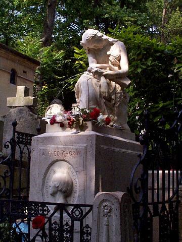 """Résultat de recherche d'images pour """"tombe de frédéric Chopin"""""""